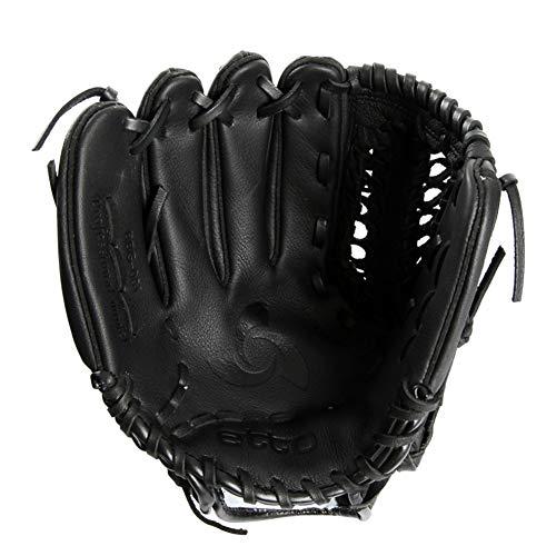 Amortiguador Cuero Guantes De BéIsbol Bisbol Guantes Baseball De Bateau Hand Baseball Glove Sporting Goods Basket Glove Softball Adulto Izquierda ColorRight hand-11.5