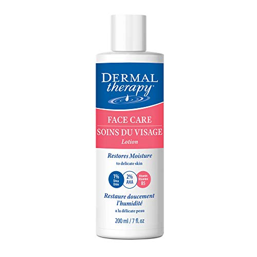 Dermal Therapy Face Care Moisturizing Lotion – Gently Restores Moisture to Dry Delicate Facial Skin | Allantoin, Shea…