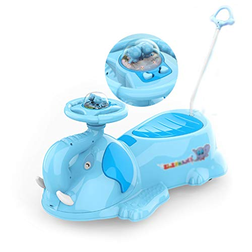 Check Out This Pedal Cars Twisted Car Children's Yo-yo Universal Wheel 1-3 Years Old Anti-Rollover C...
