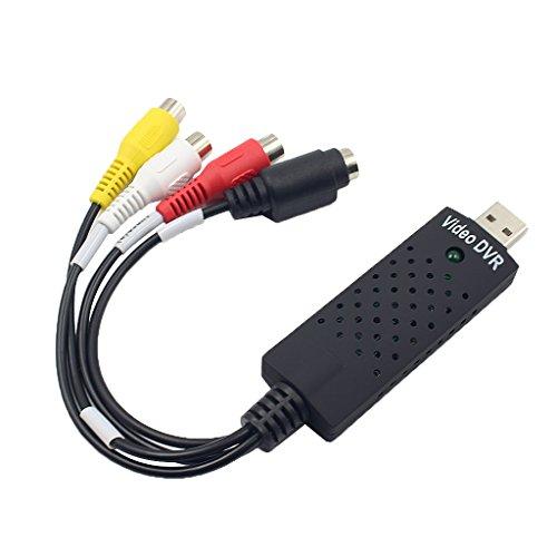 balikha 3 Cables Convertidores RCA AV a USB para Windows 2000, XP, Vista, Windows7