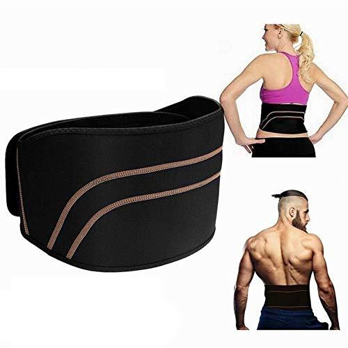 Cintura baja compresión lumbar ortopédica correa de soporte de la espina dorsal, masculina y femenina respirable lumbar alivio del dolor de la correa, lumbar ortopédica apretado correa de soporte Volv