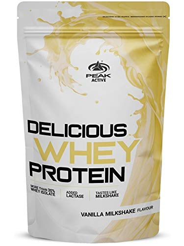 Peak Delicious Whey Protein Banana Milkshake 1000g