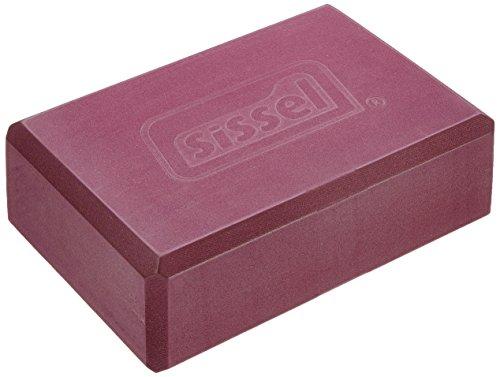 SISSEL Yoga Block, Burgund (ca.23 x 12 x 7,5 cm)