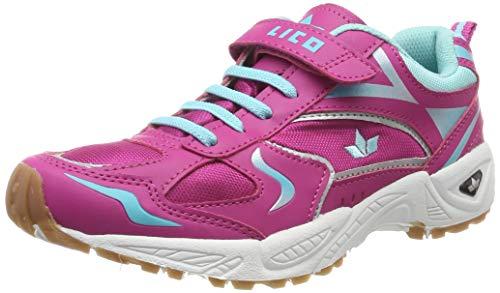 Lico Damen Bob VS Multisport Indoor Schuhe, Pink (Pink/Türkis Pink/Türkis), 39 EU