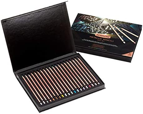 Derwent Metallic Pencil 20th Anniversary Set of 20 product image