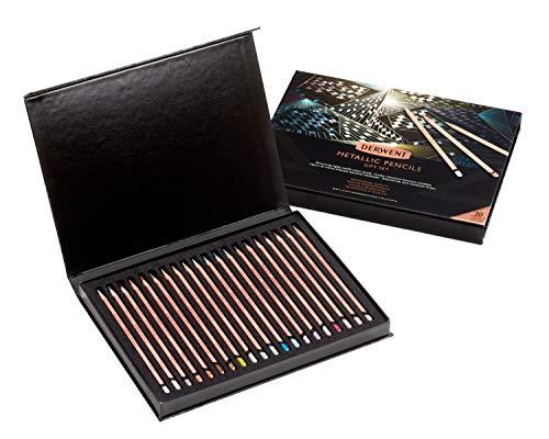 Derwent Metallic Pencil 20th Anniversary Set of 20