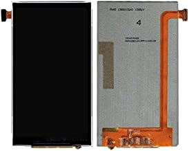 JIN Phone Repair Parts LCD Screen Display for Alcatel One Touch Snap / 7025 & Fierce / 7024(Black) (Color : Black)