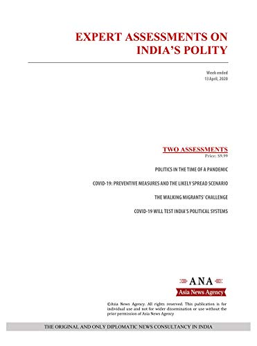 EXPERT ASSESSMENTS ON INDIA'S POLITY: Weekly News and Analysis on India, 13 April 2020 (English Edition)