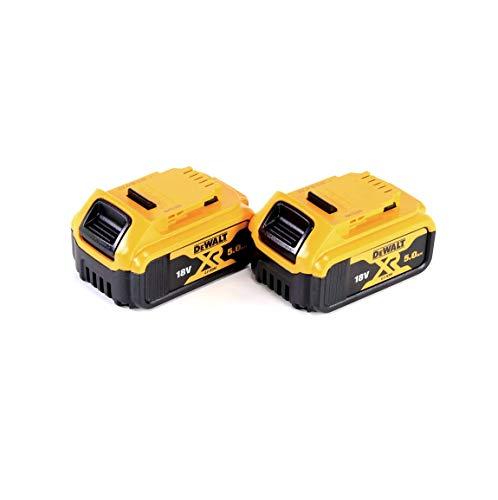 DEWALT DCB184-XJ XR - Batería de Iones de Litio (5 Ah, 18 V, 20 cm x 20 cm x 20 cm, 2 Unidades)