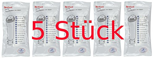 TEFAL 5x XH5001 XH5000 Claris Wasserfilter für BR 3019 3041 3088 Quick Hot