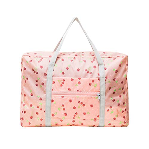 For Sale! QUNANEN Travel Duffel Bags Large Capacity Fashion Travel Bag for Man Women Bag Travel Carr...