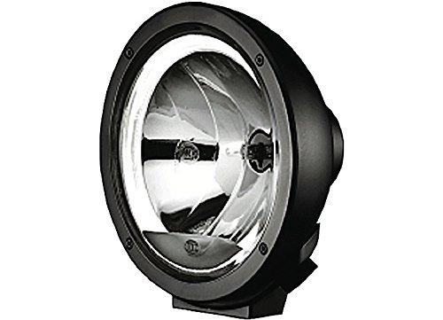 HELLA 1F1 009 094-041 Fernscheinwerfer - Luminator Compact - H1 - 12V/24V - rund - Ref. 37,5 - glasklare Streuscheibe - Anbau - Einbauort: links/rechts