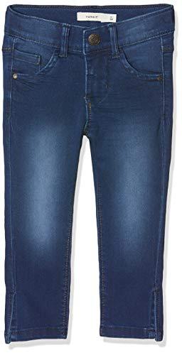 Name IT NOS Name IT NOS Mädchen Jeans NKFPOLLY DNMTASANNE 2195 CAPRI Blau (Medium Blue Denim), (Herstellergröße: 110)