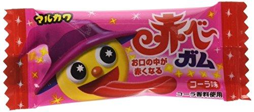 丸川製菓 赤べーガム 1個×50個