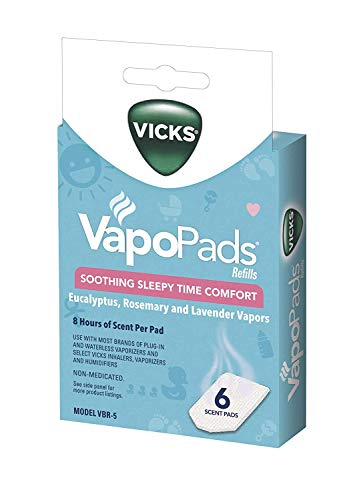 Vicks Pediatric VapoPads Refill Pads 6 ea (Pack of 3)