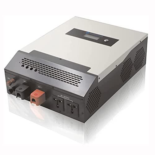 COUYY Adattatore con convertitore di energia ad Onda sinusoidale Adattatore ups all-in-One Controller 12V / 24V a 220V 1200W / 2000W / 3000W / 4000W / 6000W,3000w 24v220vpwm