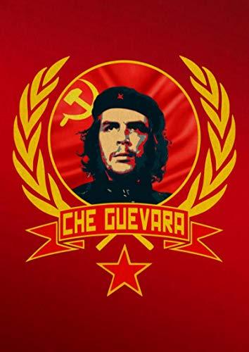 shuimanjinshan Póster Che Guevara Carteles de Pintura en Lienzo e Impresiones Imagen de Arte de Pared para la decoración del hogar de la Sala de Estar(JQ-1939) 40x50cm Sin Marco