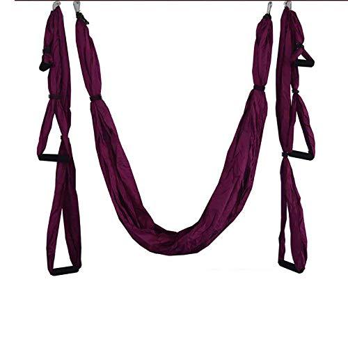 ZWL Yoga Hammock Decompression Aerial Yoga Swing Yoga Silk,1#
