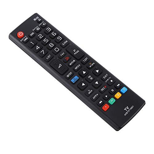 NCONCO Mando a distancia universal AKB73715601 LCD HD LED TV Mando a distancia para LG