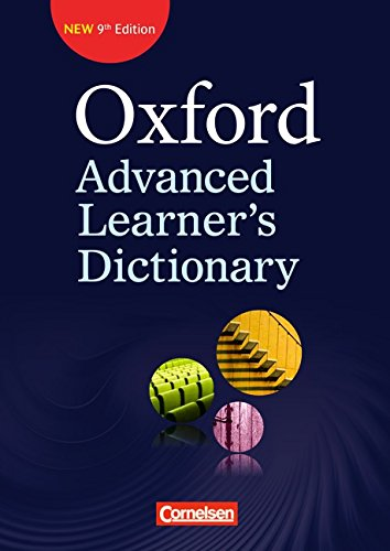 Oxford Advanced Learner\'s Dictionary (9th Edition), Klausurausgabe