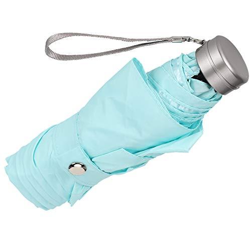 Labuda Paraguas Plegable, Paraguas Anti Sol, Paraguas de Lluvia para Mujeres de Viaje a casa