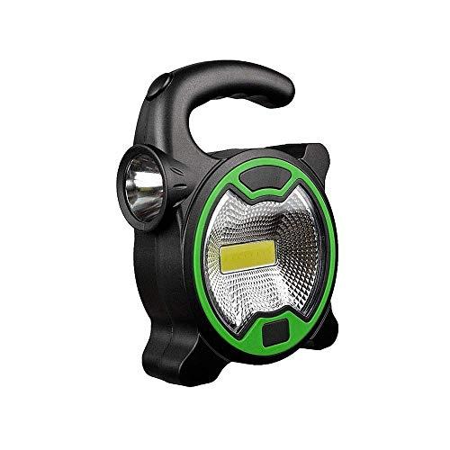 HHJJ SFBWNHK Lámpara de Trabajo portátil Lámpara LED Linterna Impermeable Emergencia Proyector Reflector Recargable para al Aire Libre Senderismo Camping Lámpara de luz-32372I0V6U (Color : A)