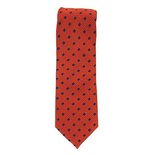 Cotton Park - Cravate 100% soie orange - Homme