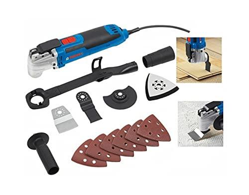 Multiherramienta eléctrica multiherramienta, lijadora de 24 piezas, juego de accesorios para serrar...