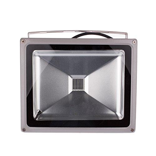 Luz Led de Inundación, Luces de Seguridad Sensibles Pir Peaog Al Aire Libre 10W-50W 850-4500Lm Lámparas de Pared Reflectores Impermeables para Patio de Garaje