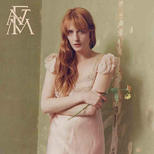 QIANLIYAN Florence The Machine Hoch wie die Hoffnung Musikalbum Kunst Poster Wand Leinwand Druck Moderne Dekoration Malerei 50 * 50 cm ohne Rahmen