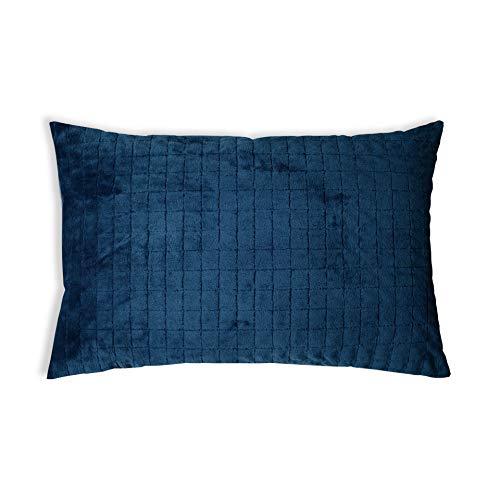 GRAVITY Original Therapiekissen Gesundheitskissen für Erwachsene gegen Schlafprobleme, Blau, Zirbenholz, 40 x 80 cm