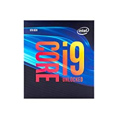 8 Cores/ 16 Threads Up to 5.0 GHz Unlocked Compatible with Intel 300 Series chipset based motherboards Supports Intel Turbo Boost Technology Supports Intel Optane Memory, no thermal solution included