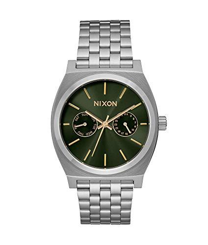 Nixon Orologio Digitale Quarzo Adulti Unisex con Cinturino in Acciaio Inox A922-2210-00