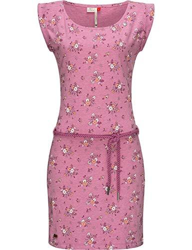 Ragwear Tamy Vestido Ligero de algodón de Mujer para el Verano Púrpura M20 S