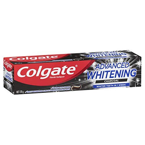 Colgate Advanced Teeth Whitening Charcoal Tooth paste Whiter Teeth in 1 Week 170g
