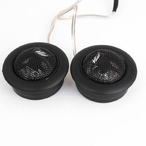 DealMux 2PCS Pré-wired Dome de Áudio do Sistema Tweeter Alto-falantes de 120W...