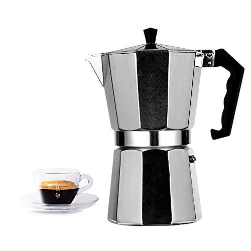 Stovetop Espresso Maker 3 Cup Moka Pot, Full Body Espresso,Classic Italian Style Espresso Cup,Easy to Operate & Quick Cleanup Pot