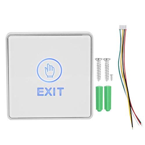 Interruptor da porta do sensor de toque, interruptor de controle de acesso, para portas de controle automático de saídas
