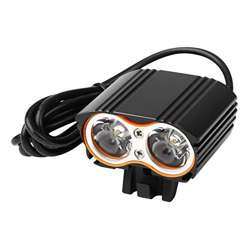 Fahrrad-Frontlicht Helle LED 2000LM USB-Fahrradscheinwerfer Fahrrad-Frontlichtlampe für Nachtfahrräder