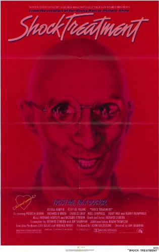 Price comparison product image Shock Treatment Poster Movie 11x17 Richard O'Brien Jessica Harper Cliff DeYoung Patricia Quinn