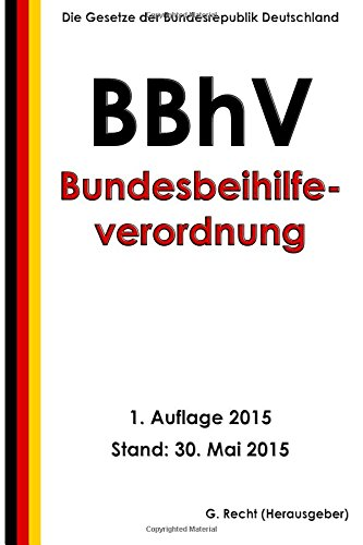 Bundesbeihilfeverordnung - BBhV