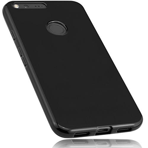 mumbi Hülle kompatibel mit Google Pixel XL Handy Hülle Handyhülle, schwarz