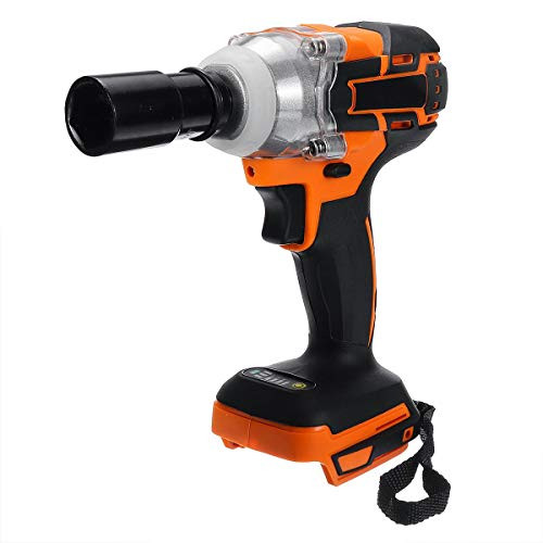 QWERTOUY 18 V 520 Nm elektrische borstelloze accu-slagschroevendraaier oplaadbare handboormachine Power Tools 4000 rpm voor Makita-accu