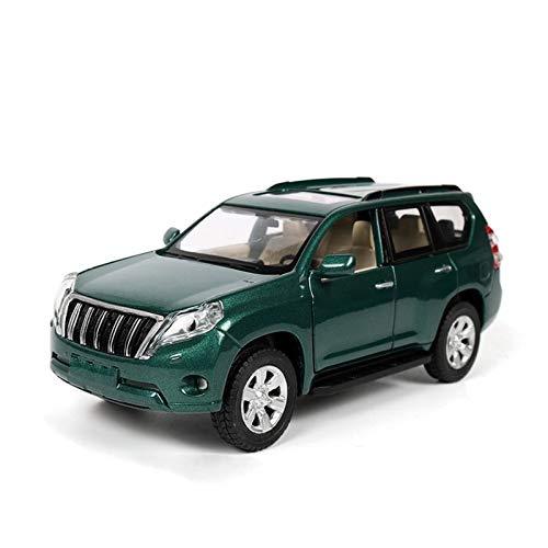 GEBAN Vehículo a Escala 1:32 para Toyota para Prado Land Cruiser, Juguetes De Modelo De Coche De Metal con Retroceso para Regalos De Cumpleaños para Niños