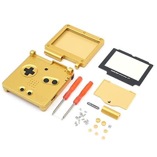 Boîtier de Remplacement pour Console de Jeu Compatible avec Nintendo Gameboy Advance SP GBA SP