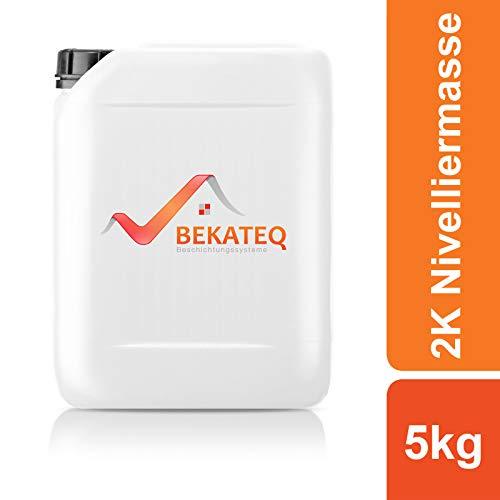 BEKATEQ Ausgleichsmasse BK-205EP Nivelliermasse selbstverlaufend - RAL7016 Anthrazitgrau - 5KG