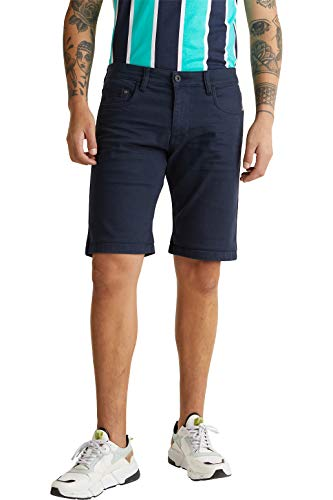 edc by Esprit 030CC2C301 Shorts, Herren, Blau 32 EU