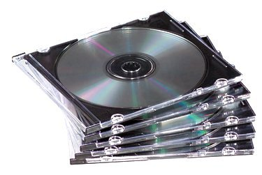 Fellowes 25er Pack Slim Jewel Cases CD-Leerhüllen transparent