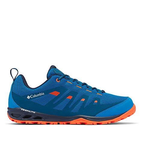 Columbia Vapor Vent, Zapatos para Hombre, Azul (Pool/Red Quartz 421), 40 EU