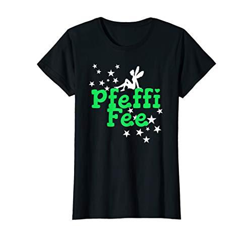 Damen Lustiges Geschenk für Schnapstrinker mit dem Pfeffifee T-Shirt